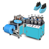 Disposable Non-Woven Shoe Boot Cover with Elastic Overshoes making machine