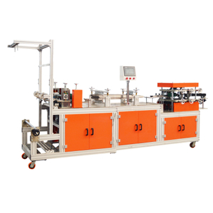 Non woven bouffant hat machine