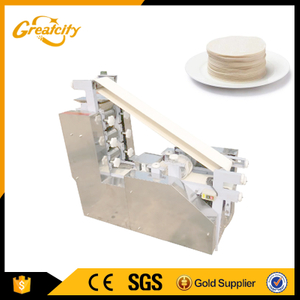 Square Dough Pastry Wonton Wrapper Machine