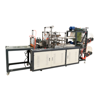 Hot sale High speed Automatic Plastic Disposable PE CPE TPE Hand Glove Making Machine