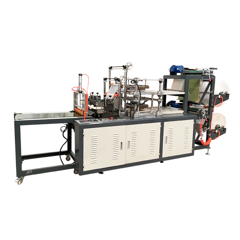 Automatic Equipment Production Disposable Making Hand Plastic Hdpe pe Gloves Machine